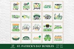 St Patrick's Day svg bundle eps png dxf Product Image 3