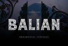 Balian Typeface Product Image 1