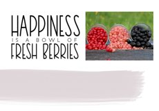 Very Berry Smoothie - Tall and Thin Font Product Image 3