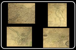 Vintage Antique City World Maps! 32 JPG Files Product Image 4