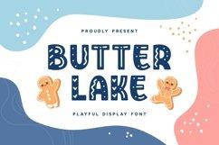 Butterlake - Playful Display Font Product Image 1