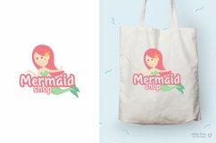 Molly - Mermaid Display font Product Image 2