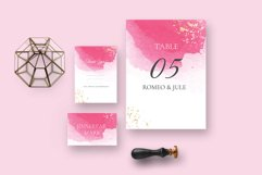 Classy watercolor wedding Suite Product Image 2