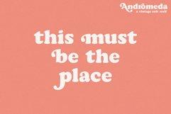Andromeda // A Vintage Soft Serif Font Product Image 3