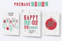 This Holiday Season - Christmas font and Extras Product Image 6