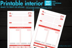 Pinterest Pins planner - KDP notebook. Product Image 1