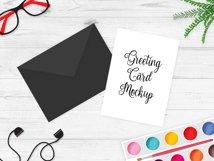 Greeting Card Mockup v4 Product Image 3