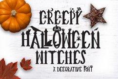 Creepy Halloween Font Product Image 1