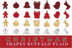 Buffalo plaid Christmas, shapes, sublimations Product Image 6
