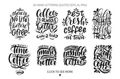 Coffee lettering set Product Image 2