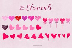 All Hearts Clipart Set Product Image 6