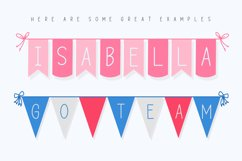The Bunting Font Collection Product Image 6