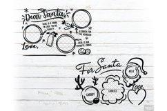 Santa Tray SVG Bundle Christmas with PNG, DXF, EPS, JPG Product Image 5