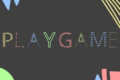 Playgame - childish handwritten font in ttf, otf Product Image 4