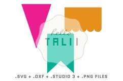 Banners SVG Cutting Files BUNDLE Product Image 2
