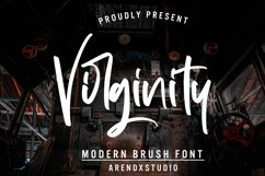 Virginity - Modern Brush Font Product Image 1