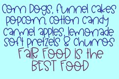 Funnel Cakes Font Product Image 2