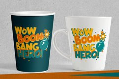 Drolly comics book funny font Product Image 3