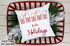 Merry Gnomes - A fun holiday gnome font Product Image 5