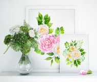 Camellia watercolor collection Product Image 3