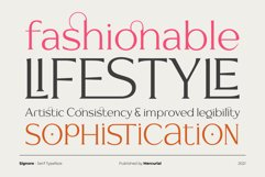 Signore - Serif Typeface Product Image 3
