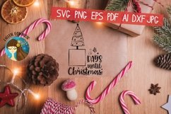 Days Until Christmas Svg Product Image 6