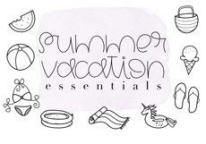 Summertime - A Cute Handwritten Font Product Image 5