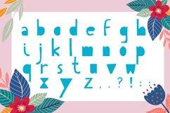Hello Summer Cutout Font Product Image 5