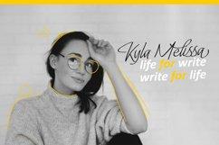 Lady Writer Skinny Font Product Image 3