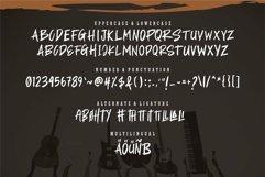 Web Font Asmobus - A Stylish Brush Font Product Image 2