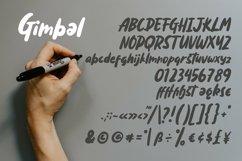 Web Font Gimbal - Fancy Display Handrawn Font Product Image 5