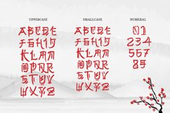Gunji - Chinese Brush Font Product Image 2