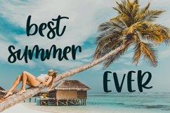 Sweet Summertime - A Hand-Written Script Font Product Image 2
