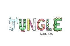 Jungle Font Product Image 1