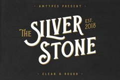 Silver Stone Font  Bonus Product Image 1