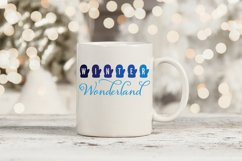 Winter Wonderland SVG | Mittens SVG | Winter Printable Product Image 2