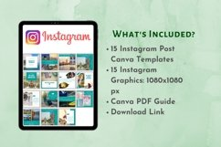Instagram Post Template- Travel Blogger Product Image 2