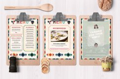 Mexican Food Menu Template Product Image 4