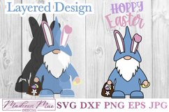 Hoppy Easter Gnome SVG Product Image 2