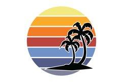 Tropical Sunset Bundle DIY Kit SVG Product Image 4