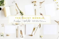 The Daisy Bundle - 11 Mockups and a Stock Photo Product Image 1