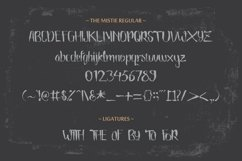 Web Font The Mistie Typeface Product Image 3