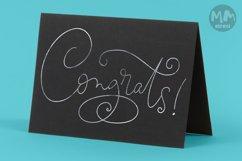 Congrats! - single line for foil quill & sketch pen! Product Image 2