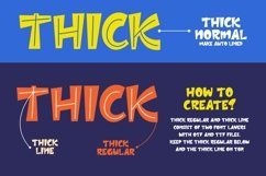 Thick - Layered Font Product Image 4