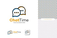 Chat logo vector Product Image 5