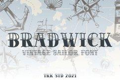 BRADWICK - Sailor Tattoo Font Product Image 1
