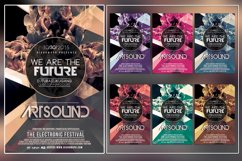 Art Sound Photoshop Flyer Template Product Image 1