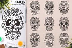 100 Decorative Skulls Product Image 5