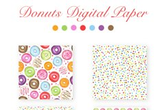 Watercolor Donuts Party Product Image 6
