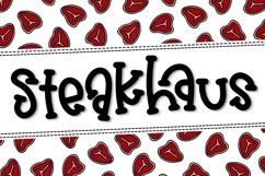 Steakhaus a Hand Lettered Font Product Image 1